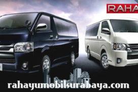 sewa mobil mewah toyota hiace commuter surabaya, rental mobil toyota hiace vip sidoarjo, luxury car rental service